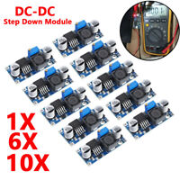 10x LM2596S DC-DC 3A Buck Adjustable Step-down Power Supply Converter Module