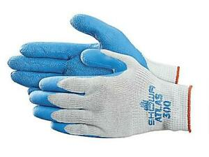 Showa Best Atlas 300 Natural Rubber Dipped Work Gloves Various Quantities& Sizes