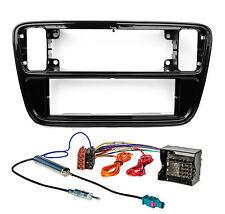Radioblende Set VW Up SEAT Mii SKODA Citigo Autoradio Blende Adapter Antenne