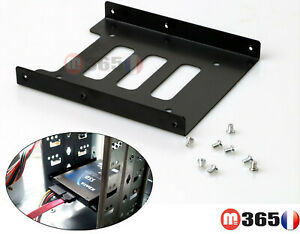 """caddy Support rack adaptateur disque dur 2.5"""" to 3.5""""  SSD HDD 2.5"""" vers 3.5"""""""
