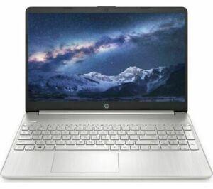 HP 15s-eq1516sa 15.6in Silver Laptop - AMD Ryzen 3 3250U 4GB RAM 128GB SSD - Win
