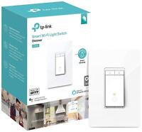TP-Link Kasa Smart Wi-Fi Light Switch, Dimmer works Alexa & Google Home (HS220)