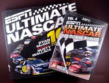ESPN Ultimate NASCAR - 100 Defining Moments (New: DVD Vol 4 + BOOK Combo) Gift