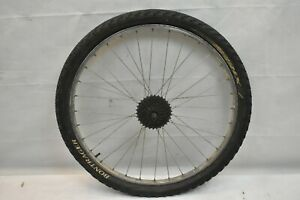 "Mavic M231 26"" Rear MTB Wheel Deore LX Hub Silver OLW135 19mm 32S AV USA Charity"