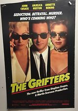 Original Movie Poster The Grifters Single Sided 27x40