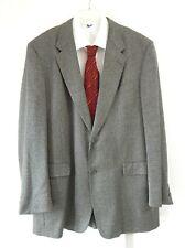 mens HART SCHAFFNER MARX jacket blazer sport coat comfort long 2 btn long 44L