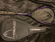 Head Comp Purple Black Tennis Racket 4/0 with zip cover