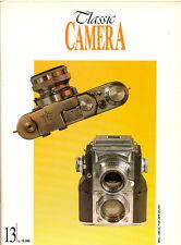 Classic Camera  N.13 Gennaio 1995 rivista in italiano collezionismo fotografico