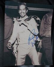 PAUL WALKER SIGNED 8X10 PHOTO YOUNG HIP FASHION SHOOT AT DANCE CLUB