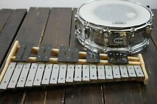 New listing Verve Bell and Snare Drum Student Practice Kit with Roller Bag #R8534