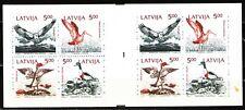 Latvia 1992 Sc335a Mi340-3 1 Booklet mnh Birds of the Baltic Shores