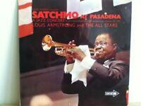 LOUIS  ARMSTRONG               LP            SATCHMO   AT  PASADENA