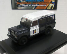 LAND ROVER II STATION WAGON HONG KONG POLICE POLICIA 1/76 OXFORD 00