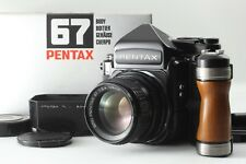 【Mint+++ in BOX】 Pentax 67 TTL Late Model + 105mm F2.4 6x7 From Japan #1923