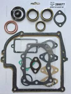 Complete Engine Gasket Set with seals replaces Briggs & Stratton 299577 7-8hp