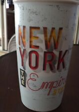 New Starbucks 2016 New York Empire State 12 oz. double wall ceramic mug