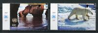 United Nations UN New York 2017 CTO World Environment Day 2v Set Bears Stamps