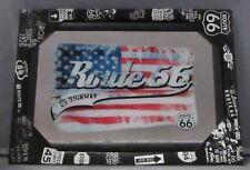 Mirror Route 66 American Flag pub/bar, mancave, home decoration