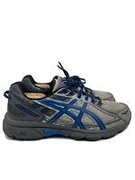 Asics Gel Venture 6 Mens Running Hiking Trail Shoes Gray Blue Size 9.5 4E T7G3N