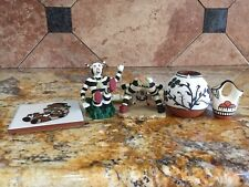 Native American Helen Bird Pottery Vase Signed Wedding Vase Trivit Clown Kachina