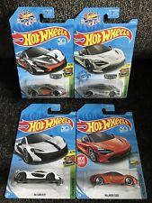 Hot Wheels McLaren P1 & McLaren 720S Walmart Zamac Exclusive & Mainlines (Lot 4)