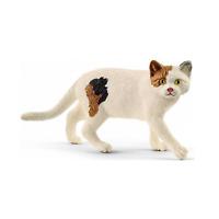 SCHLEICH Farm World American Shorthair Cat Toy Figure 13894