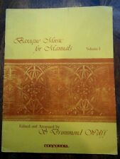 Baroque Music for Manuals - Vol. 1 edited and arranged by S. Drummond Wolff