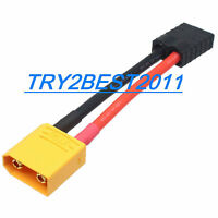 XT90/XT-90 Male to Traxxas TRX Female Connector Adapter Cable
