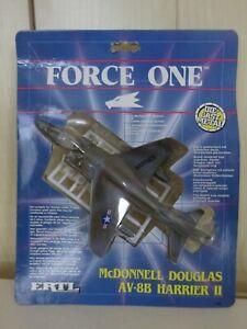 ERTL FORCE ONE McDONNELL DOUGLAS AV-8B HARRIER II JUMP JET1989  FACTORY SEALED