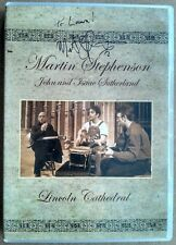Martin Stephenson - Lincoln Cathedral - All Region DVD - Signed with dedication