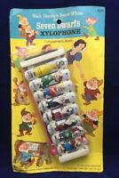 Vintage Japan Walt Disney's  Snow White & The Seven Dwarfs Xylophone in Package