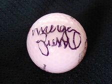MORGAN PRESSEL AUTOGRAPHED PINK GOLF BALL (LPGA) W/ PROOF!