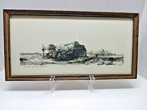 """Rembrandt van Rijn Reprint by Rae Boer of """"The Cottage With Landscape"""""""