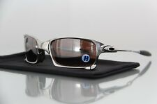 "New Oakley X-Squared Polished w / VR28 Black ""Polarized"" XX ROMEO JULIET"