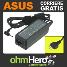 Alimentatore 19V 2,1A 40W per Asus Eee PC 1002XP