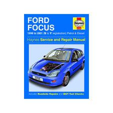 [3759] Ford Focus 1.4 1.6 1.8 2.0 Petrol 1.8 TD 98-01 (S to Y Reg) Haynes Manual