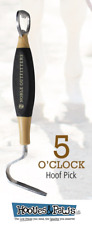 5 O Clock Hoof Pick Bottle Opener Noble Outfitters Horse Equine Black and Tan