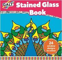 Galt STAINED GLASS BOOK Kids Art Craft Toy BN