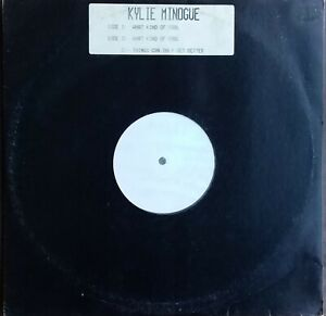"""Kylie Minogue - What Kind Of Fool. 1992 Aussie 3 Track White Label 12"""" Single"""