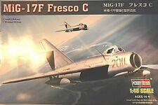 1/48 Hobby Boss Mig-17F Fresco C w/Resin Interior