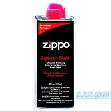 New Zippo Fluid 4oz Fuel For All Zippo Lighters