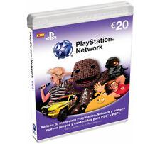 Sony – tarjeta prepago (PlayStation)