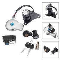 Ignition Switch Lock & Fuel Gas Cap Key Set For Yamaha Virago XV125 XV250 AU5