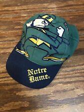 Vintage The Game Big Logo Notre Dame Snapback Hat Cap NCAA