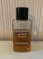 Vintage CHANEL A GENTLEMAN'S AFTERSHAVE 8 OZ BOTTLE 65% Full