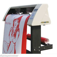 "48"" Vinyl Sign Sticker Cutter Plotter with Contour Cut Function+ Stand+ Software"
