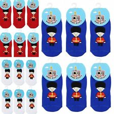 The Queen's Royal Guard Baby Newborn Infant Toddler Socks 6 Pairs 0-36 Months