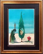 Salvador Dali Enigma Of The Rose Hand Signed Original framed Make an Offer