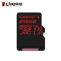 Kingston 256GB Canvas React A1 micro SDXC Memory Card UHS-I U3 Tracking Included