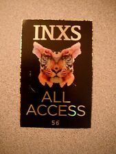 Inxs All Access 54 Backstage Concert Pass